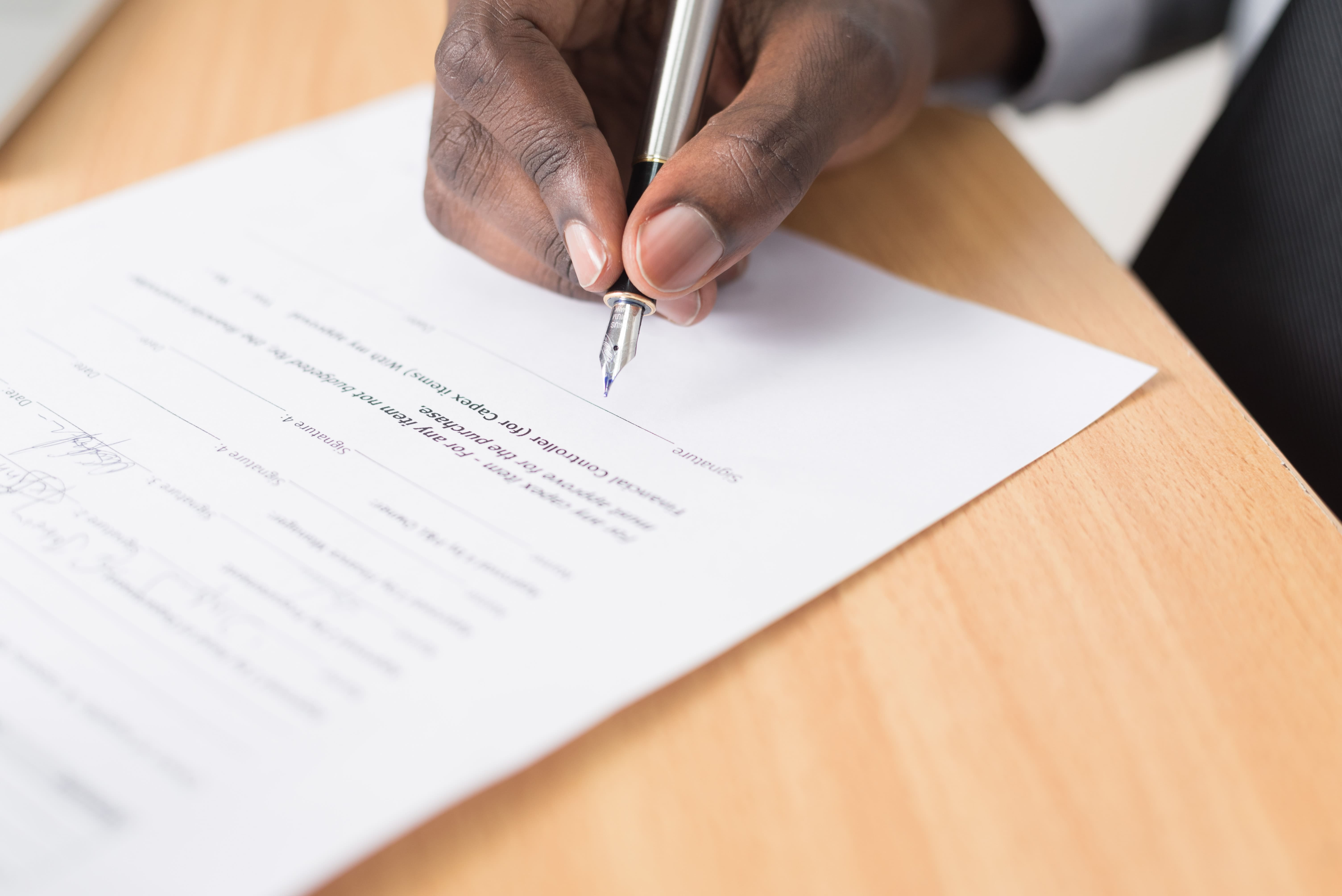 Signature de votre prêt immobilier