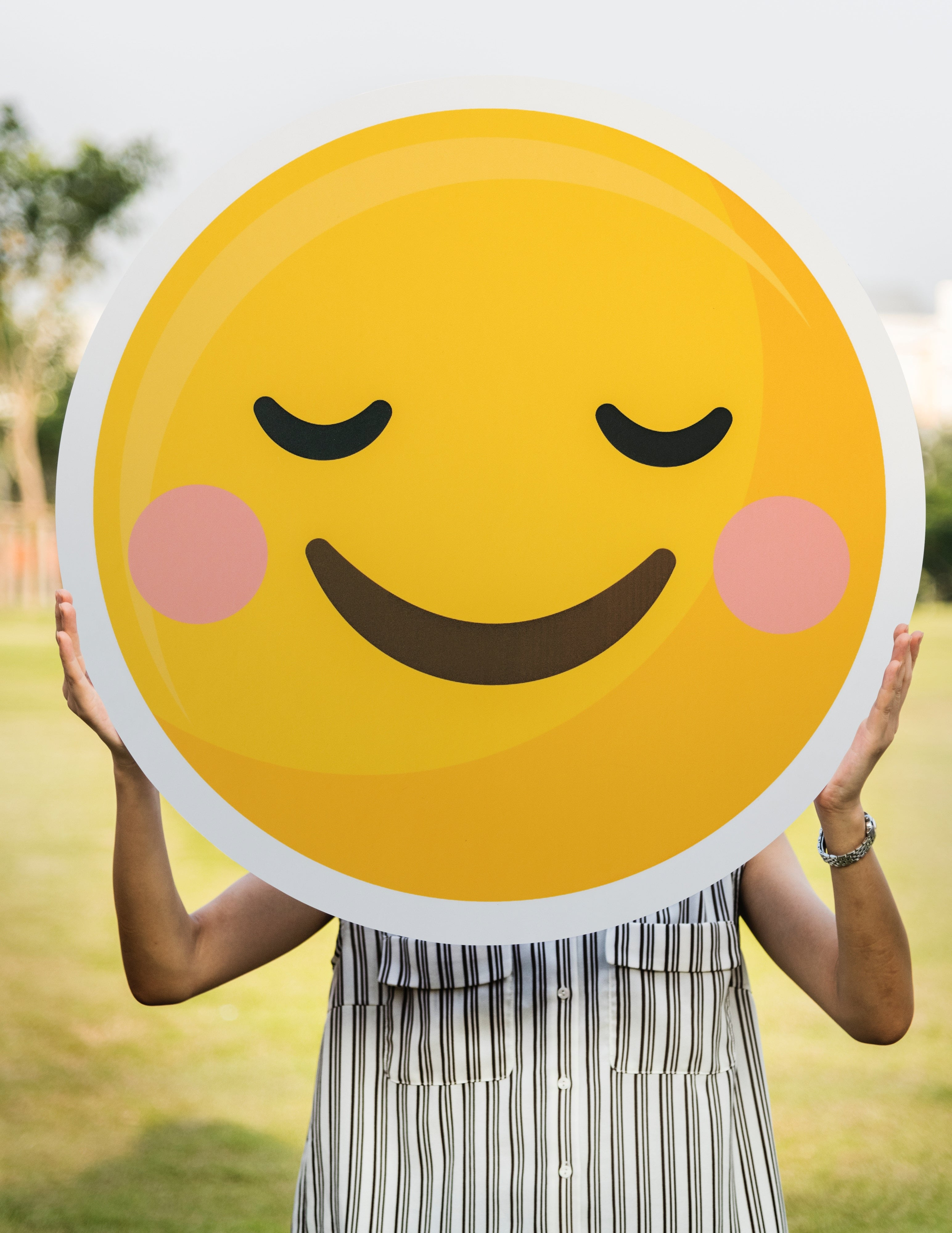 Smiley heureux