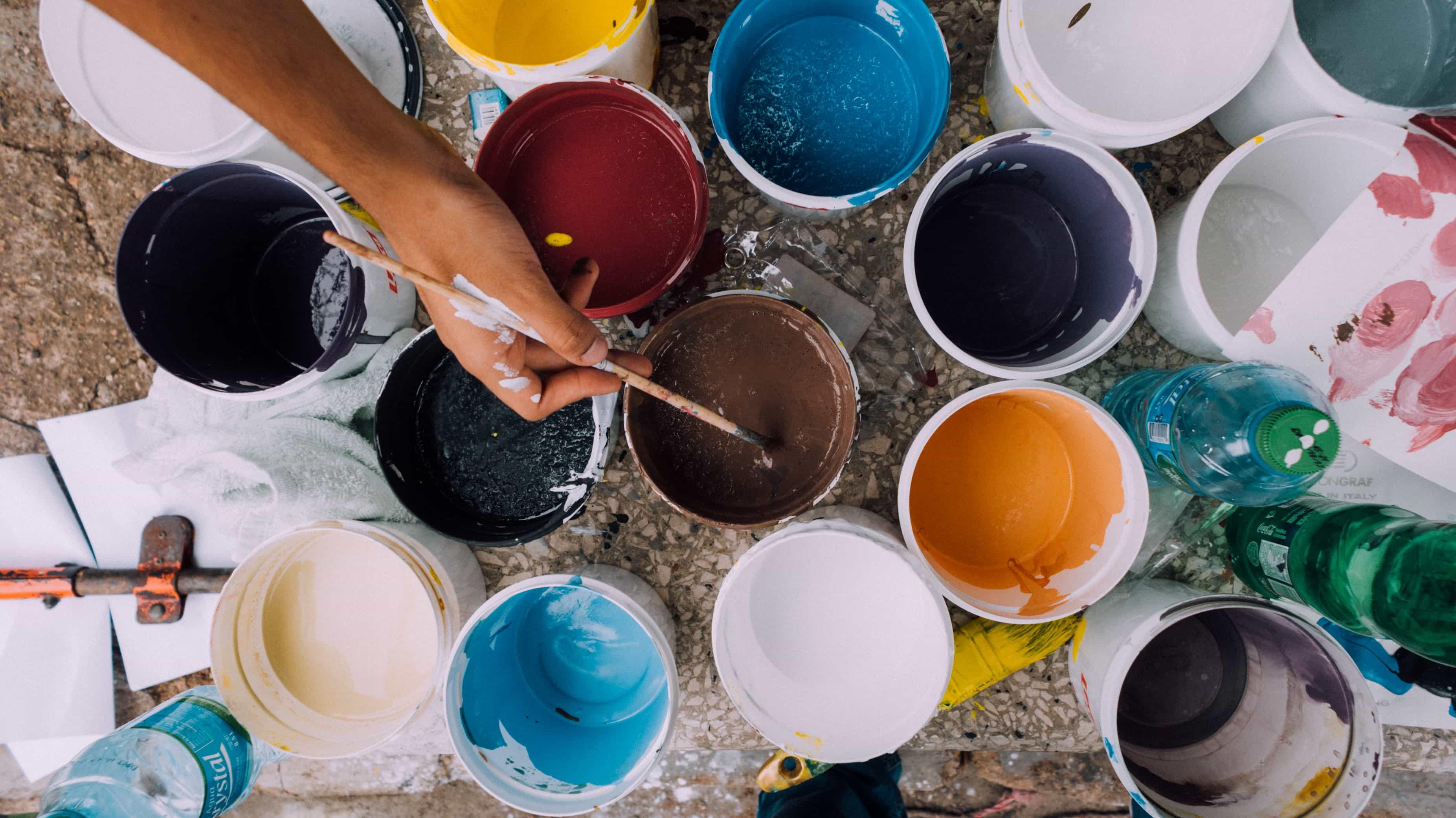 La réalisation des travaux de peinture