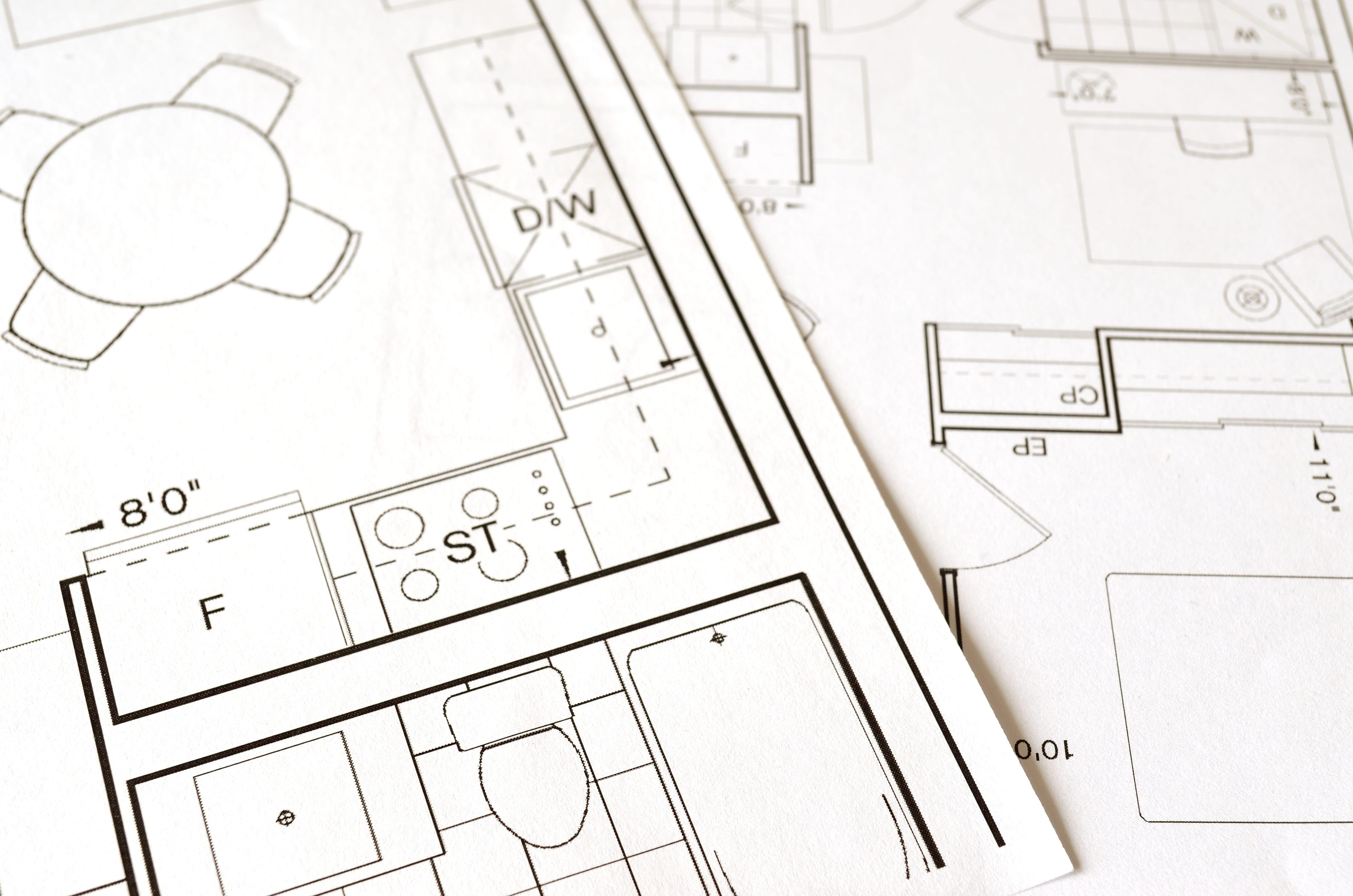 Plan d'une maison